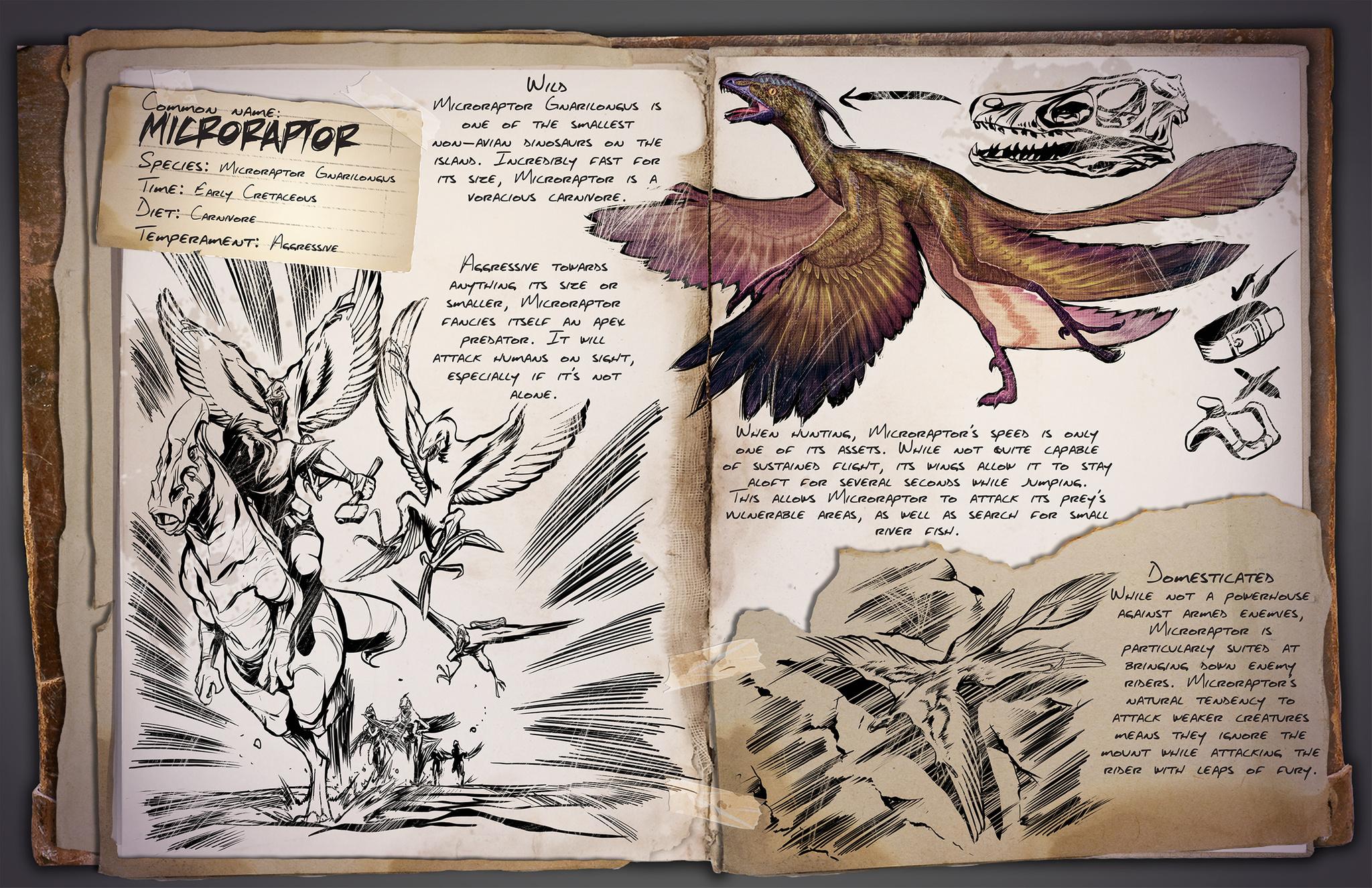 Dino Dossier: Microraptor