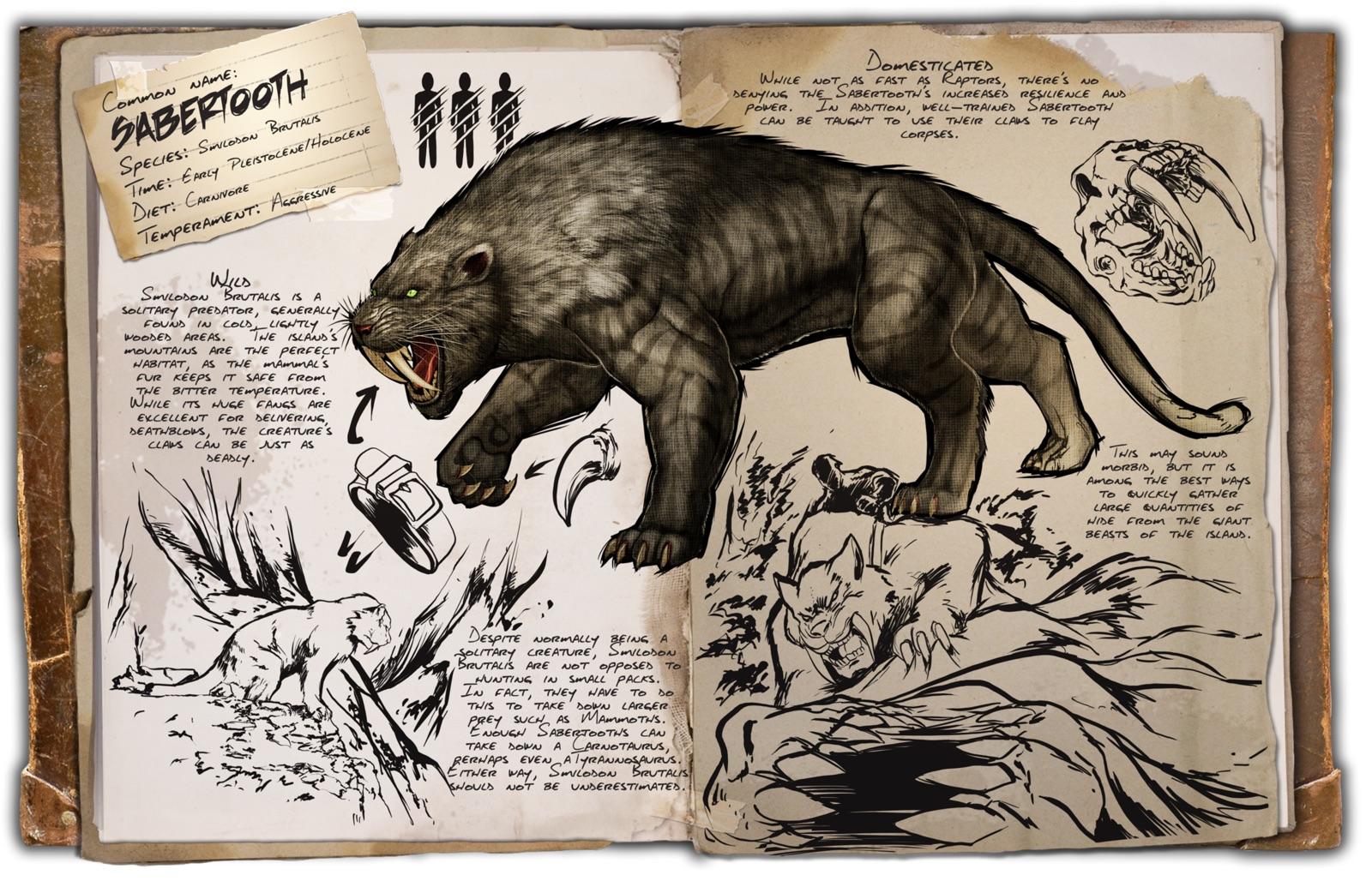 Dino Dossier: Sabertooth