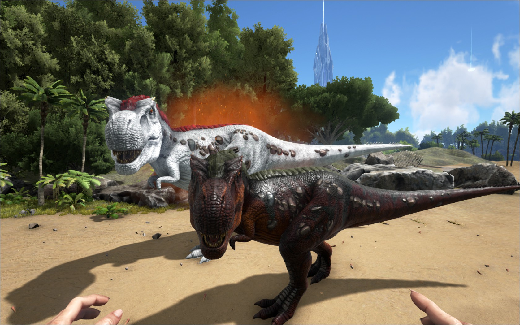 Tyrannosaurus rex hentai nackt videos