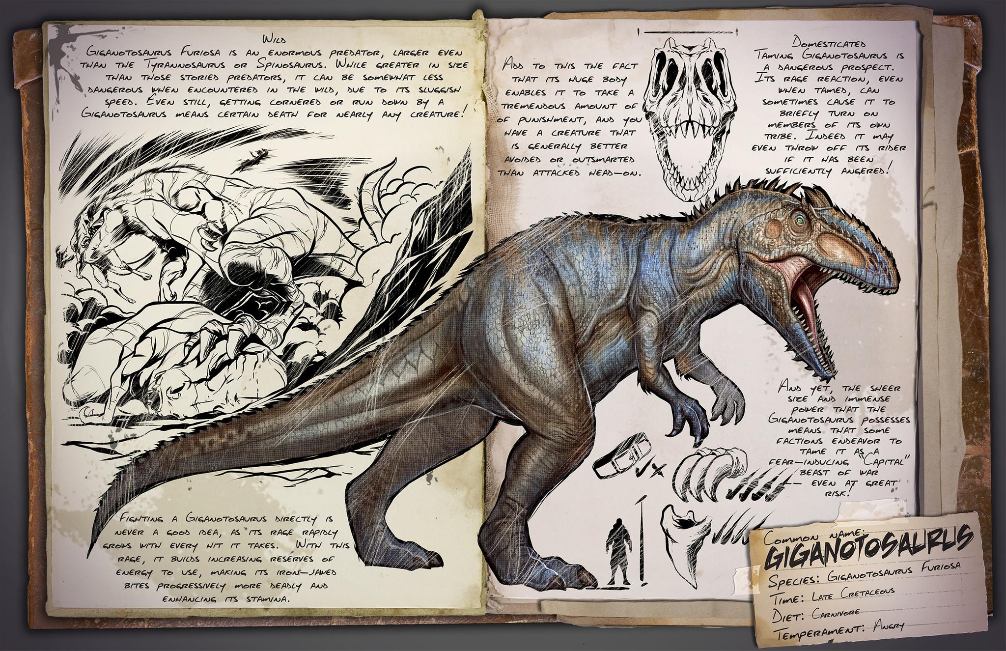 Dino Dossier: Giganotosaurus