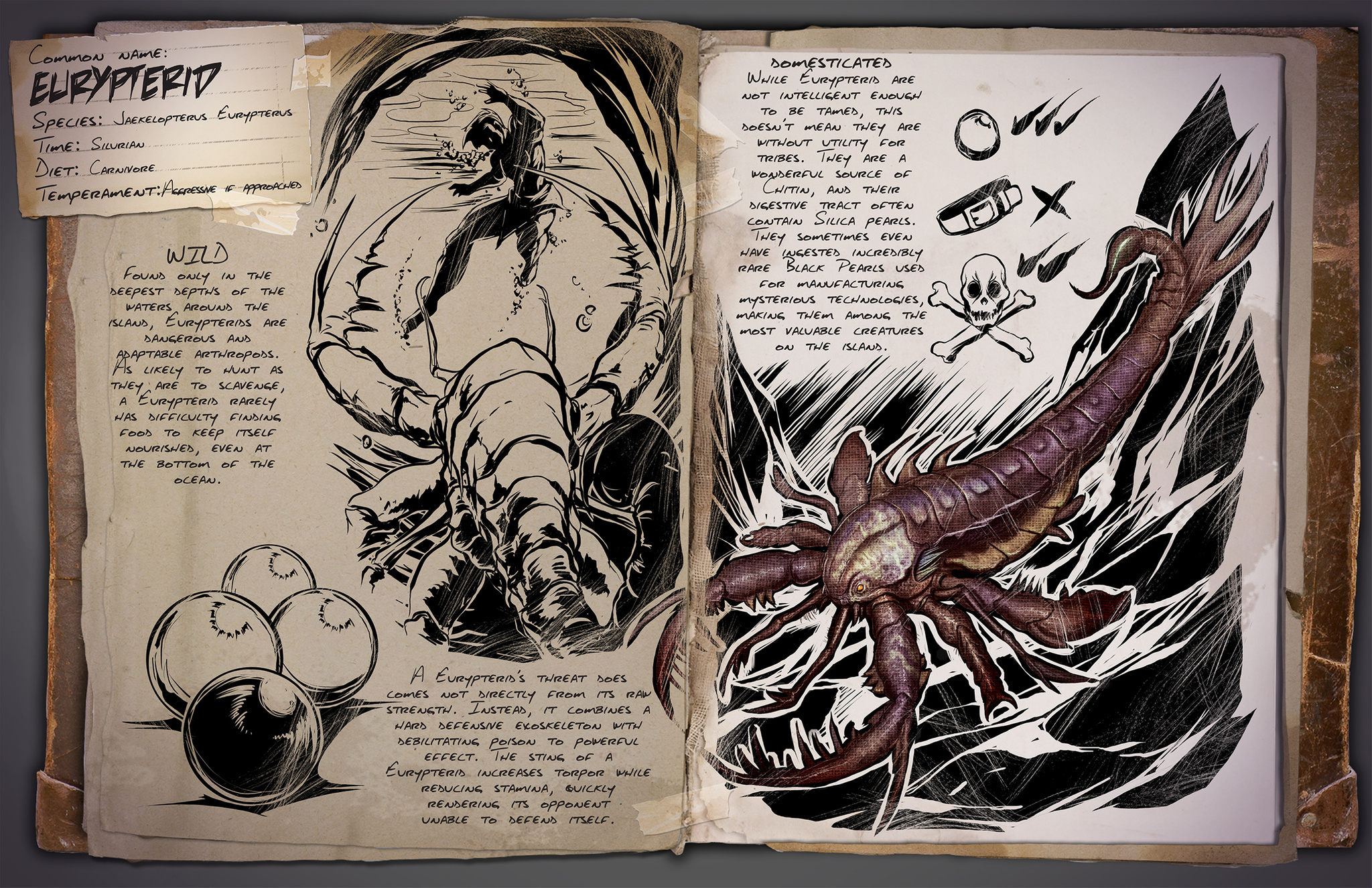 Dino Dossier: Eurypterid