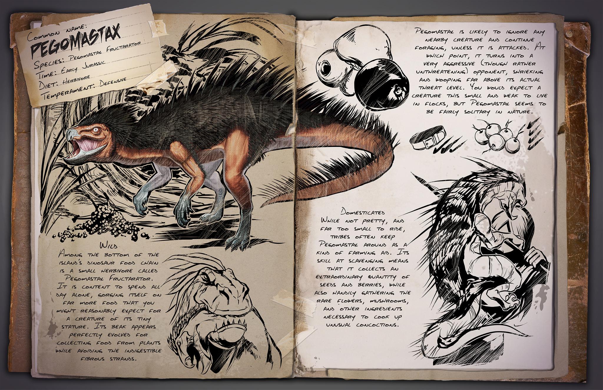 Dino Dossier Pegomastax