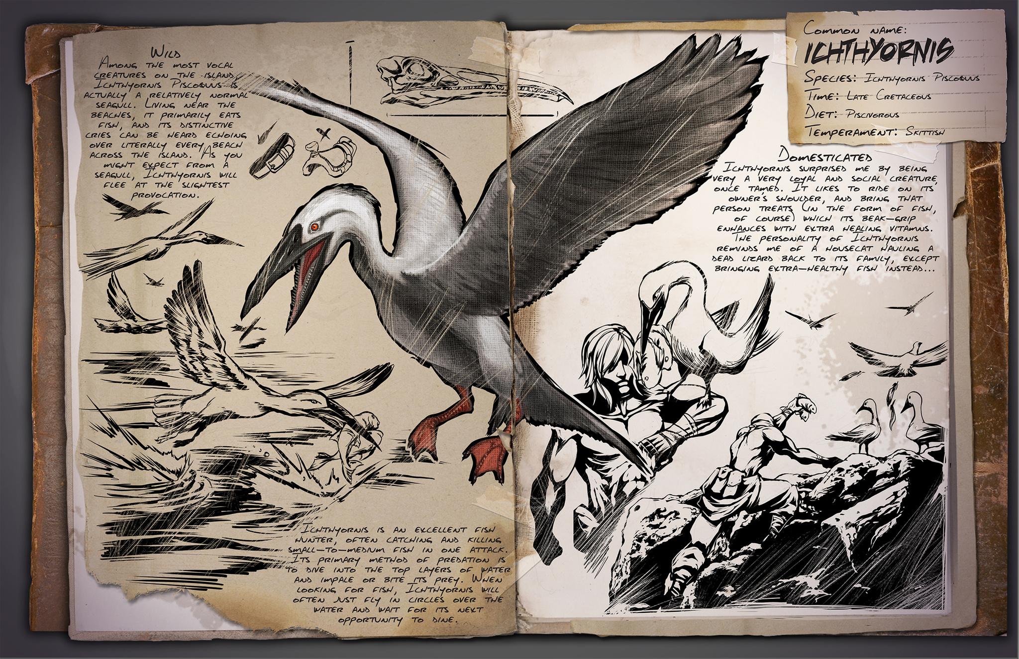 Dino Dossier: Ichthyornis