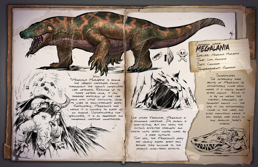 Dino Dossier: Megalania