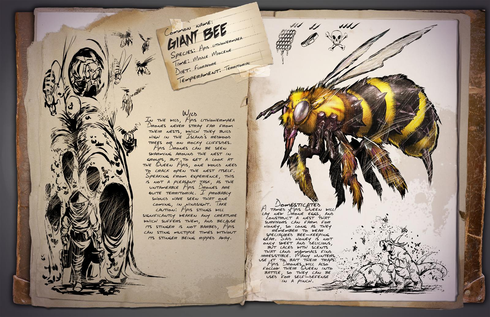 Dino Dossier: Giant Bee