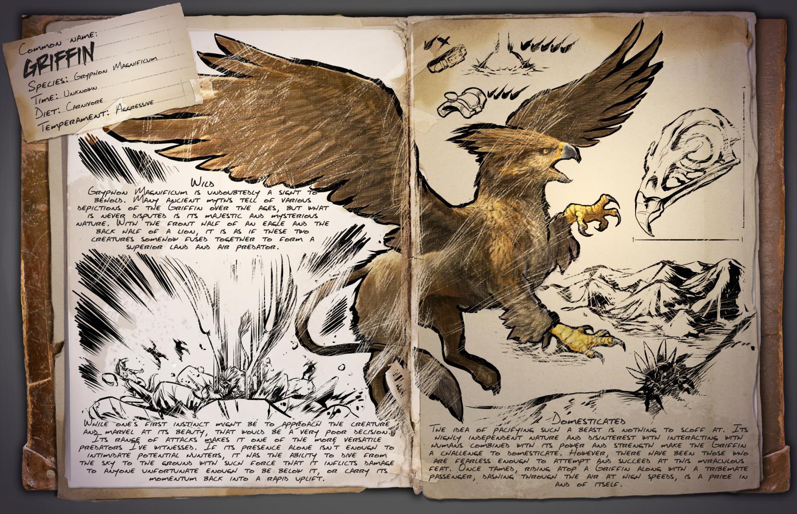 Dino Dossier: Griffin