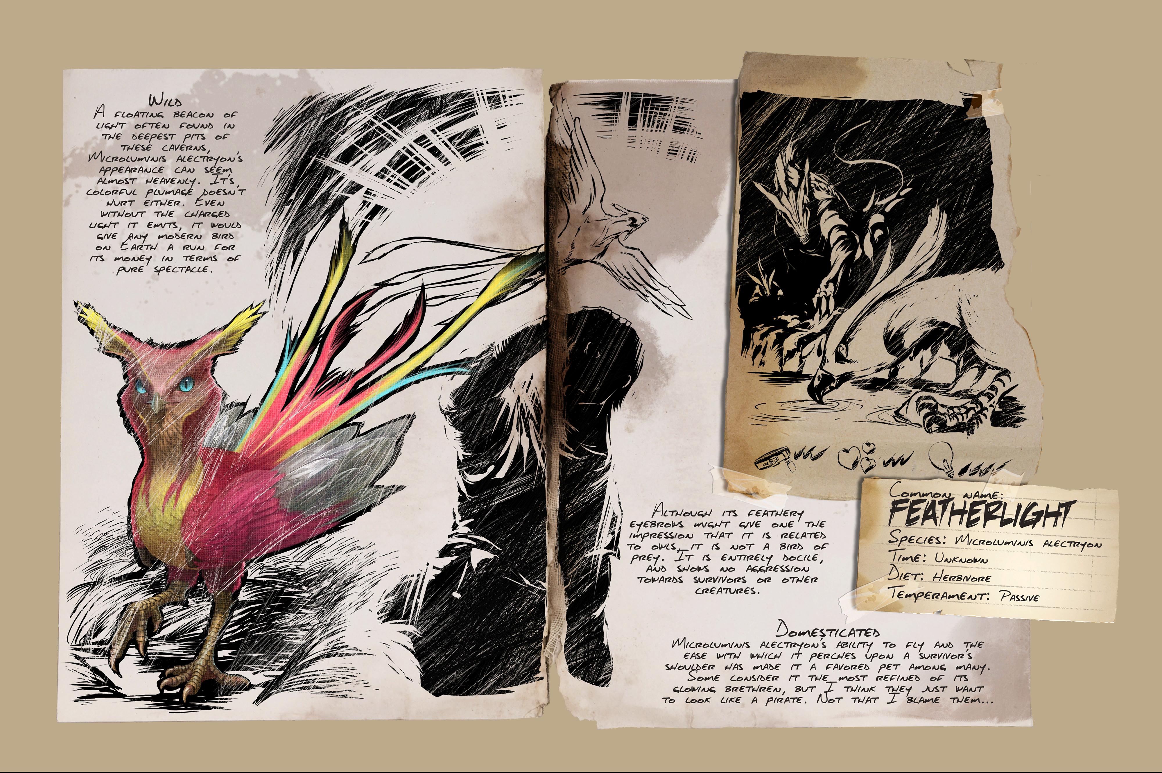 Dino Dossier: Featherlight