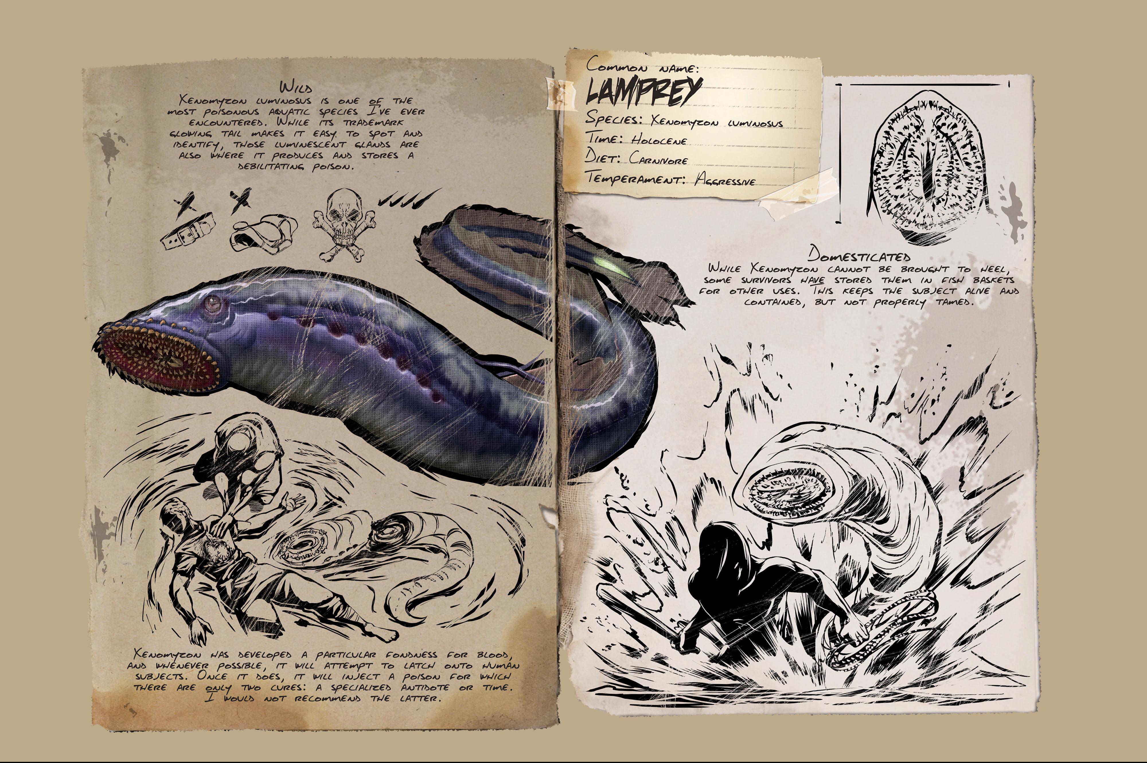 Dino Dossier: Lamprey