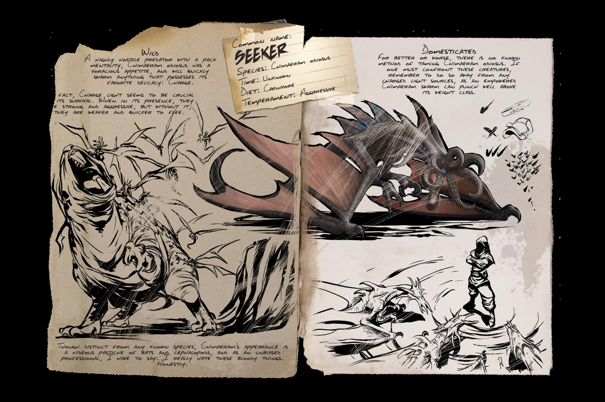 Dino Dossier: Seeker